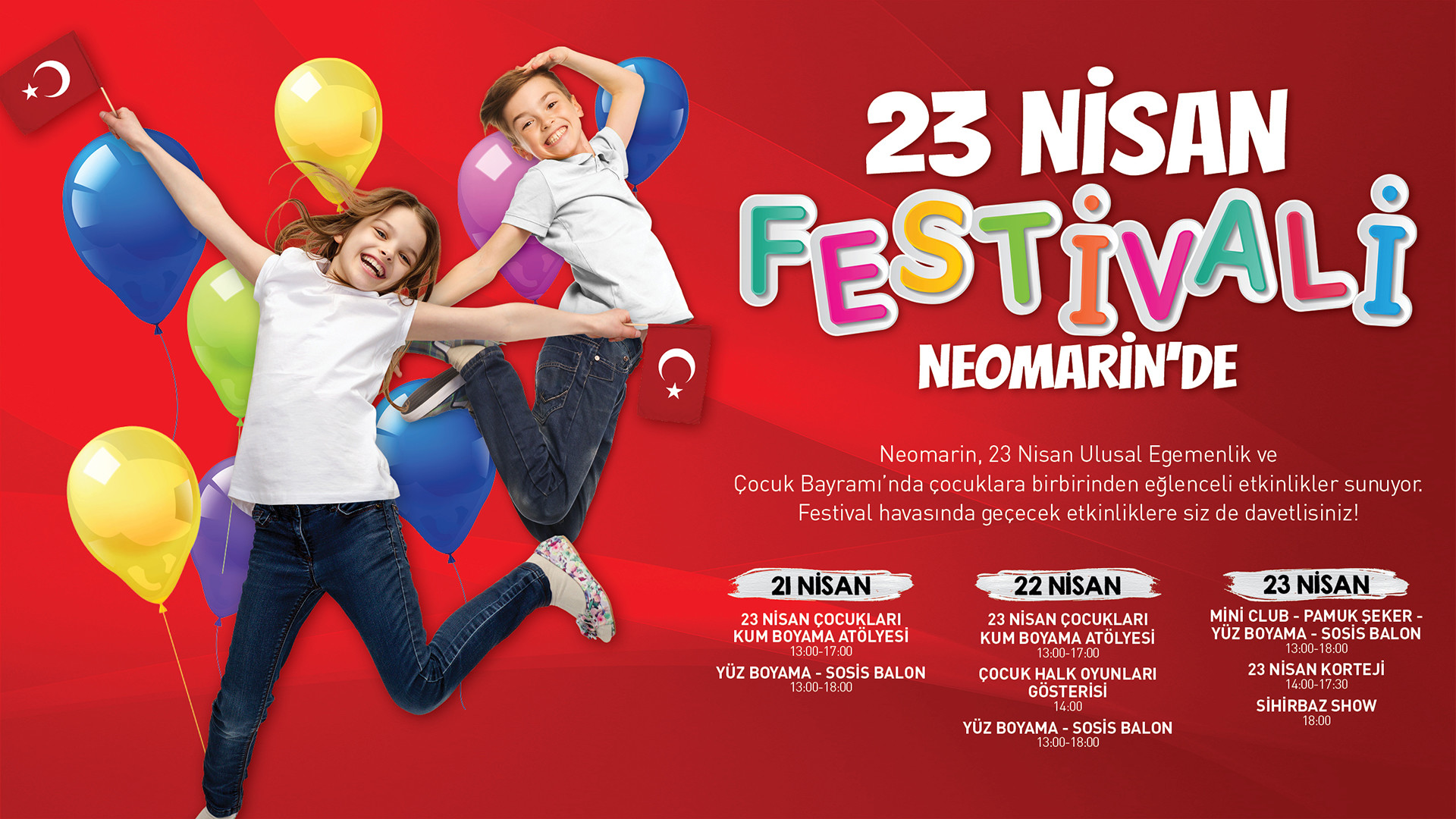 23 Nisan Festivali Neomarin'de