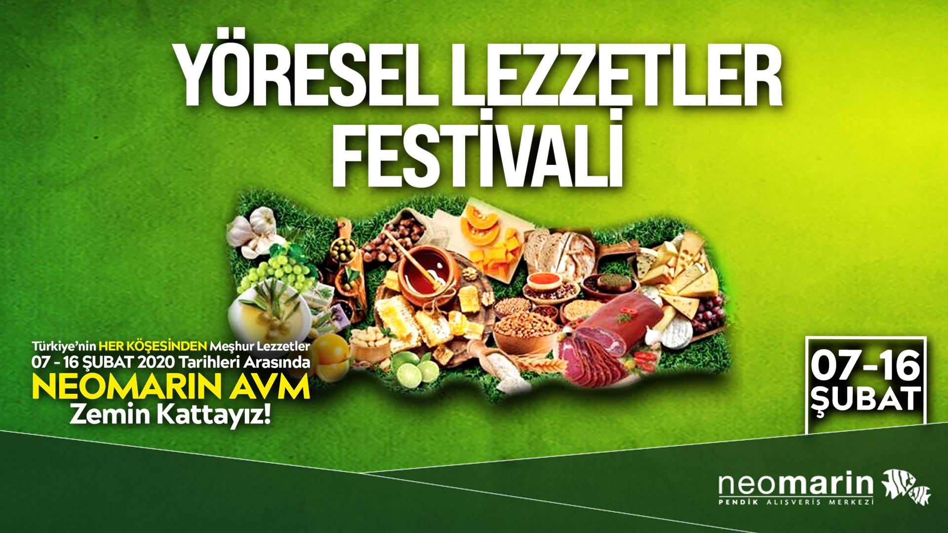 Yöresel Lezzetler Festivali