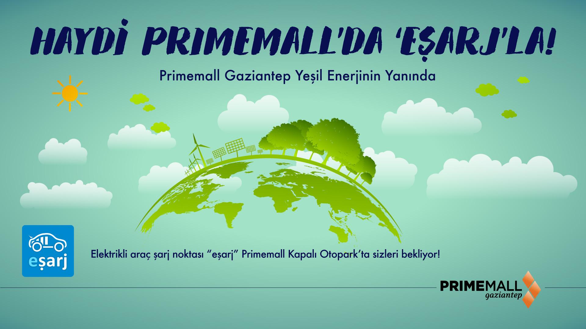 Haydi Primemall'la 'Eşarj'la
