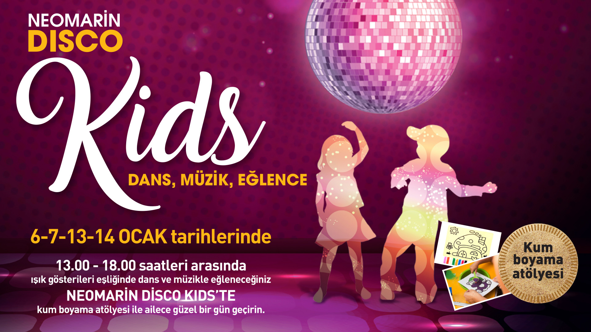 Neomarin Disco Kids