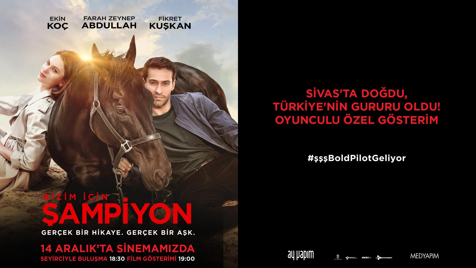 Sivasta Doğru Türkiye'nin Gururu Oldu. Oyunculu Özel Gösterim