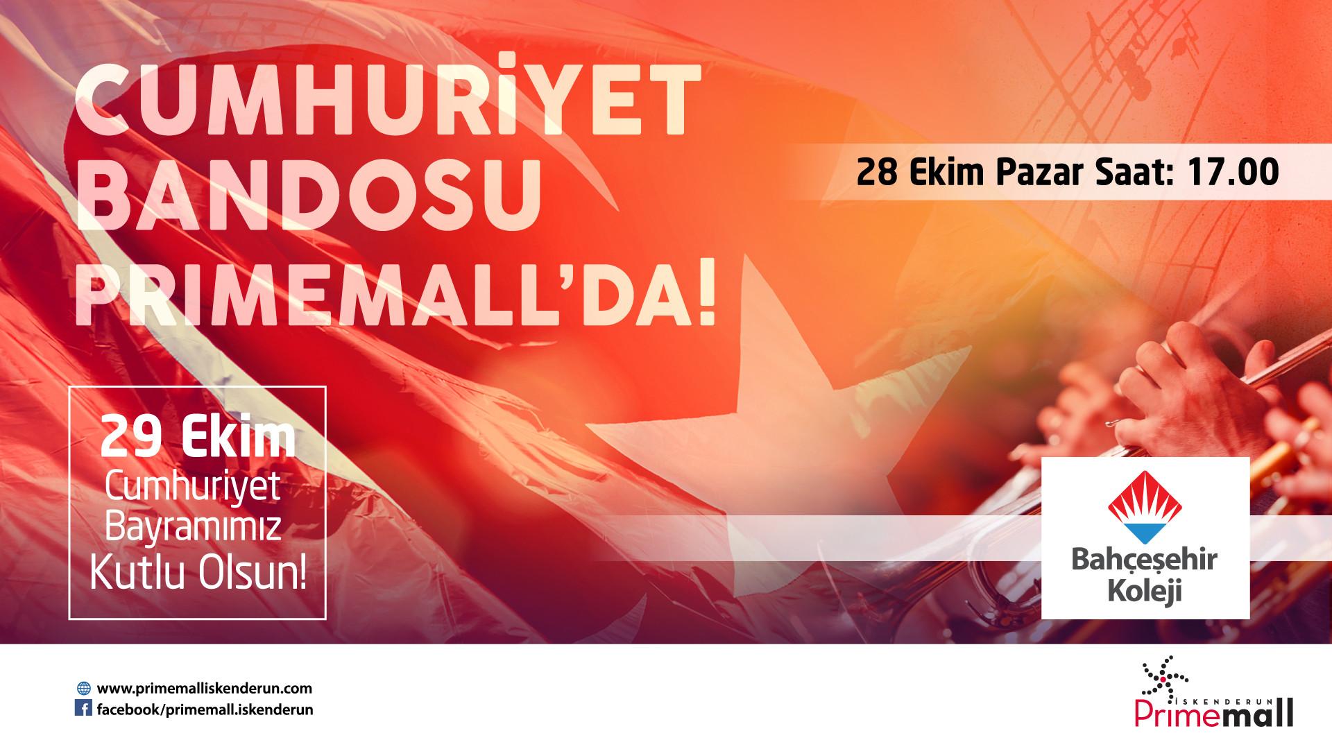 Cumhuriyet Bandosu Primemall'da