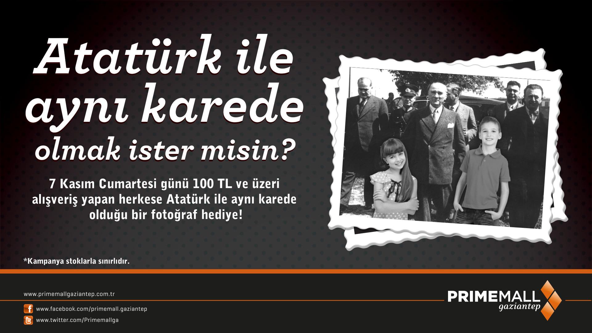 Atatürk İle Aynı Karede Olmak İster Misiniz?