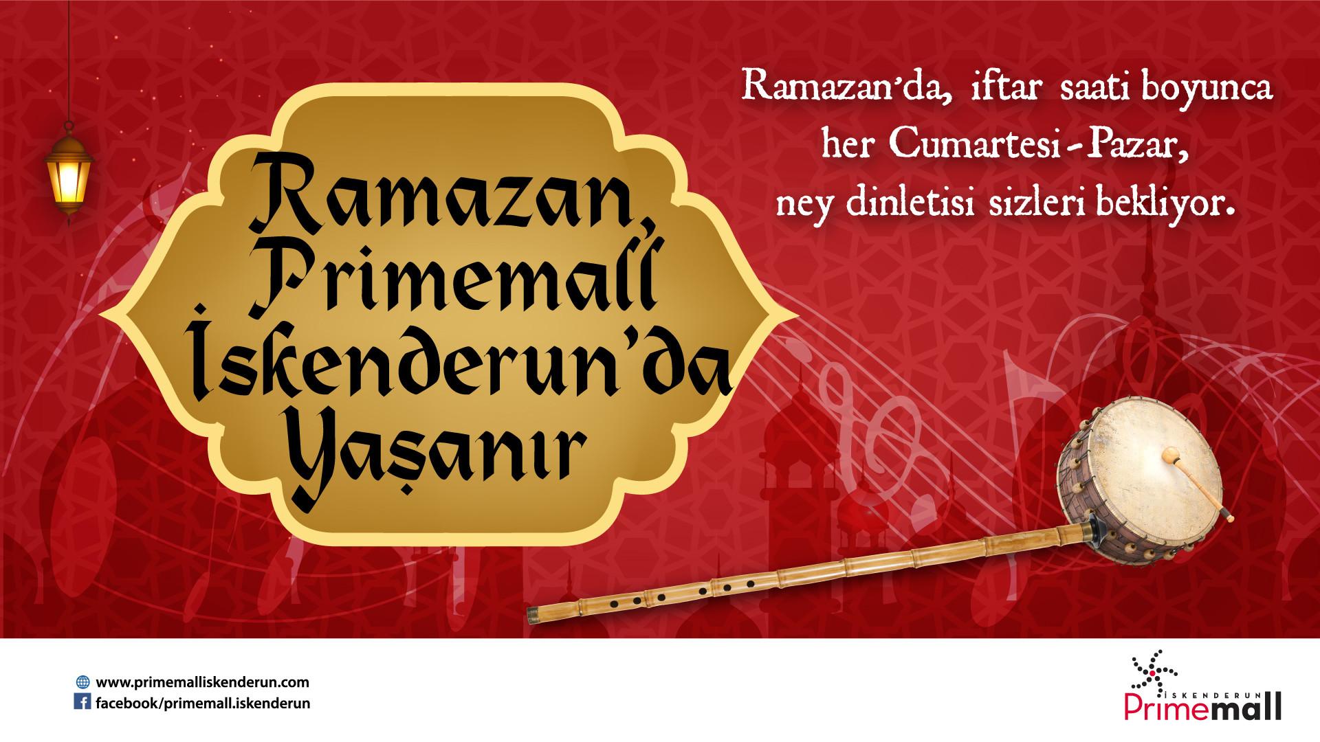 Ramazan Primemall İskenderun'da Yaşanıyor