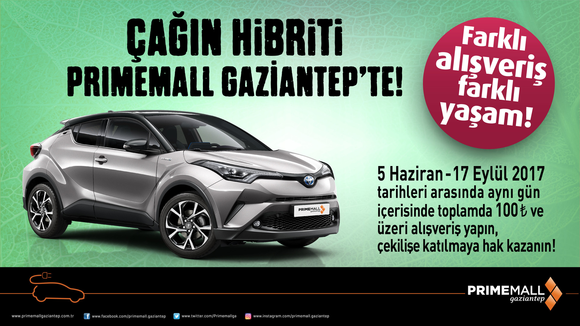 Çağın Hibriti Primemall Gaziantep'te