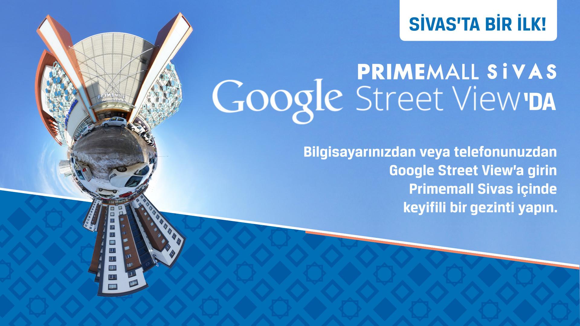 Primemall Sivas Google Sreet View'da