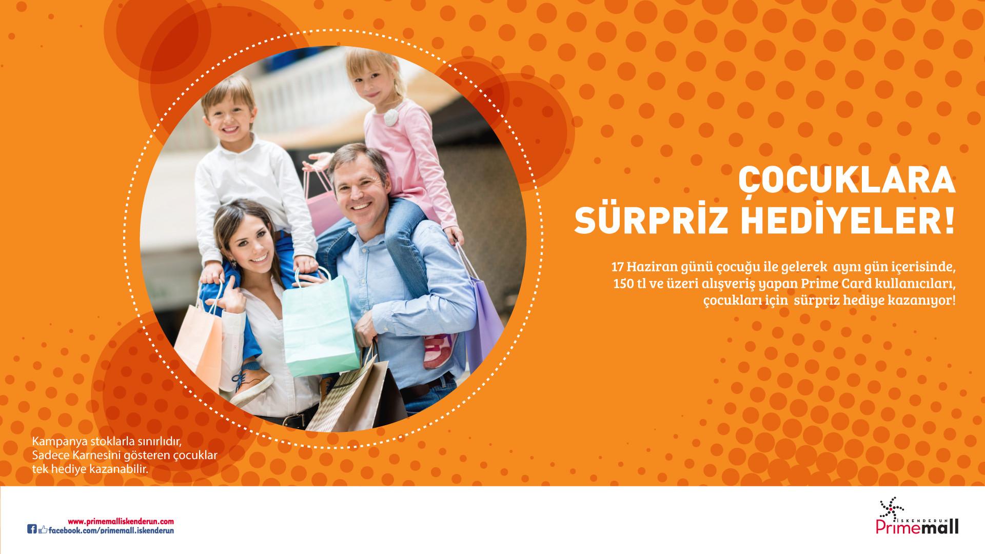 Çocuklara Sürpriz Hediyeler