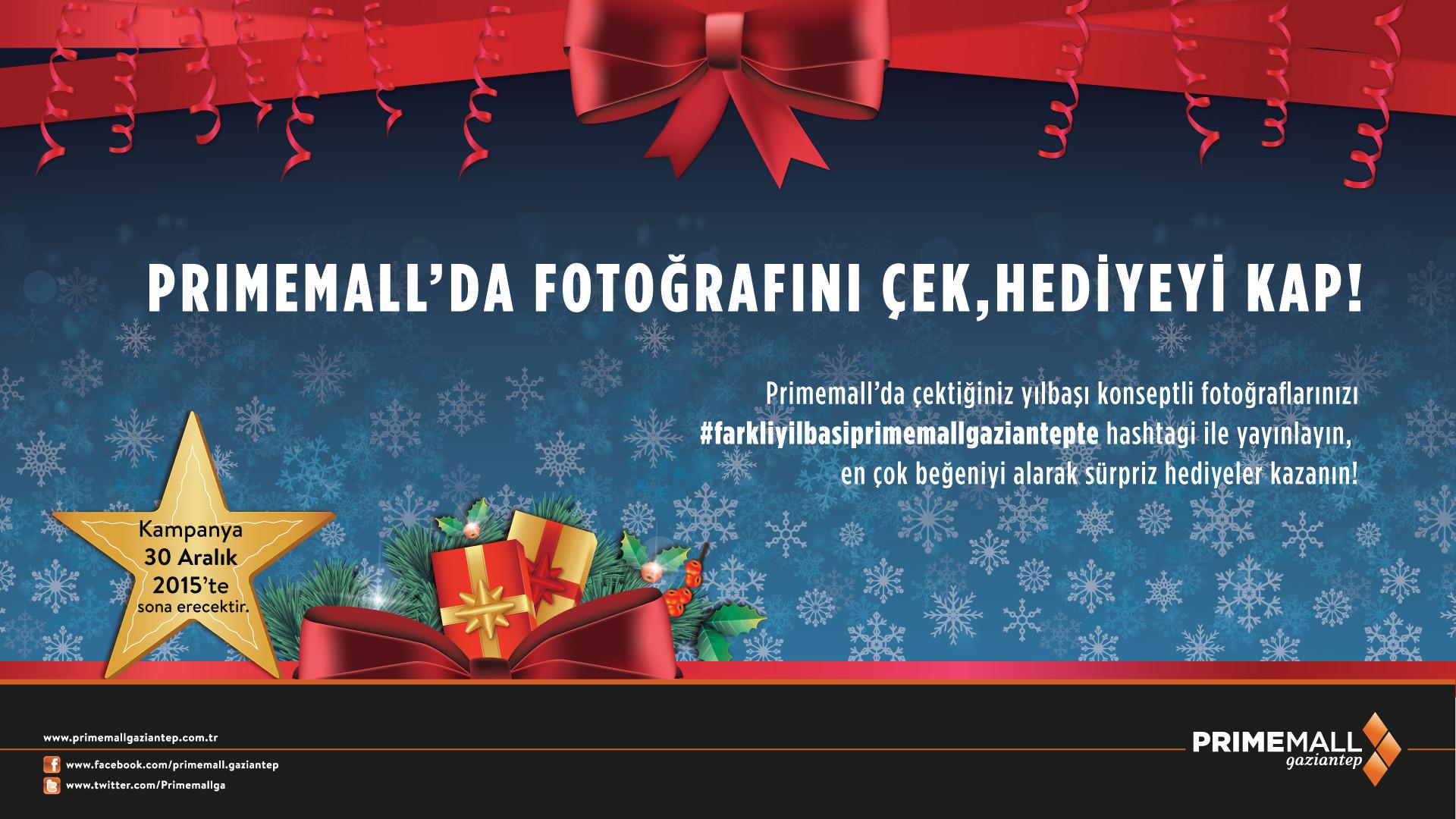 Primemall'da Fotoğrafını Çek, Hediyeyi Kap!