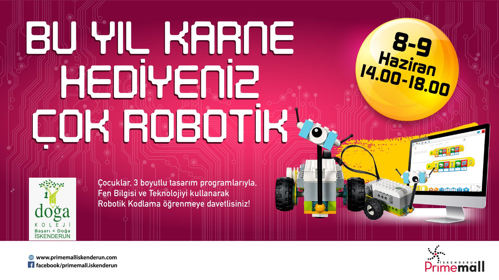 Bu Yıl Karne Hediyeniz Çok Robotik