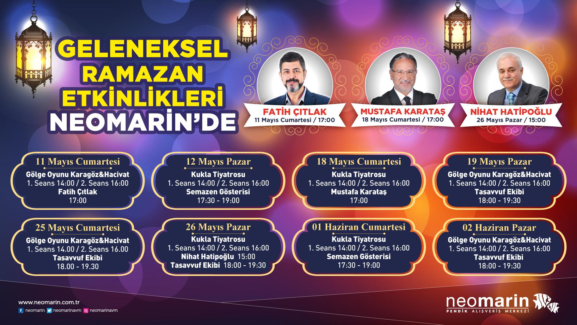 Geleneksel Ramazan Etkinlikleri