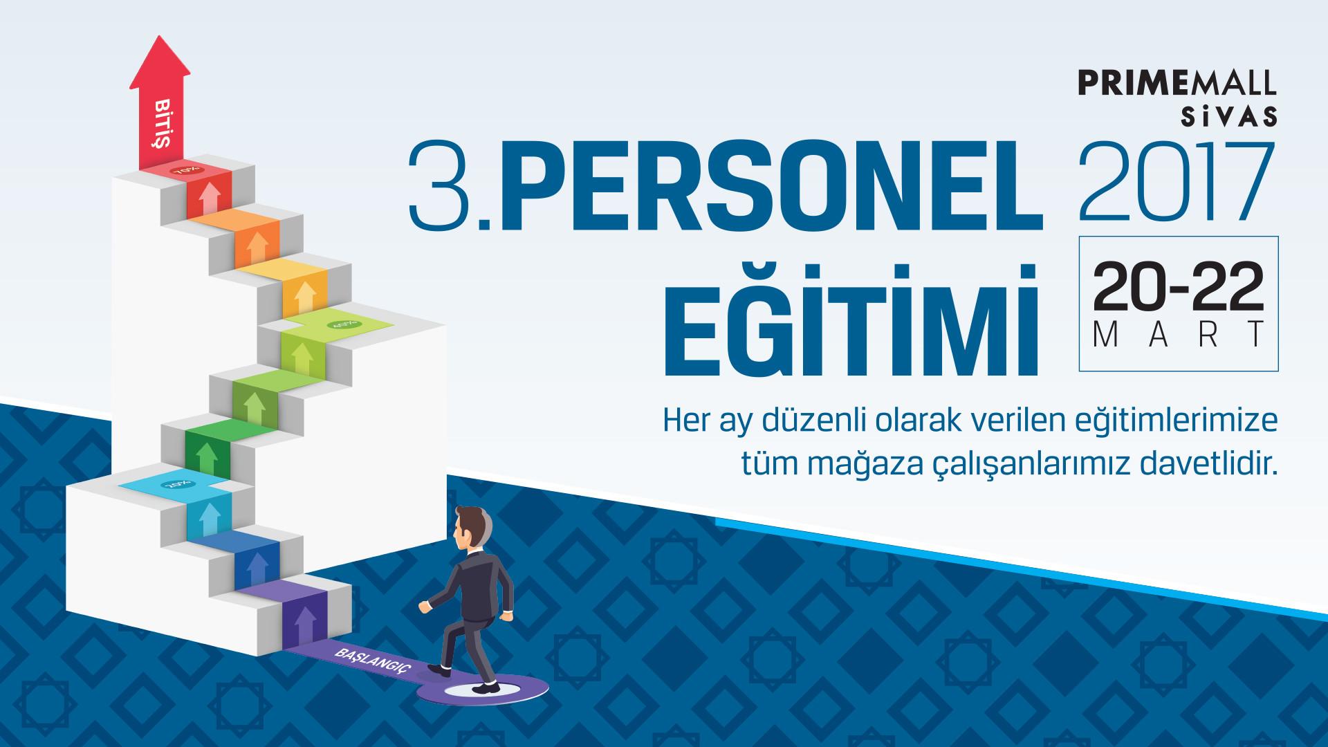 3. Personel Eğitimi
