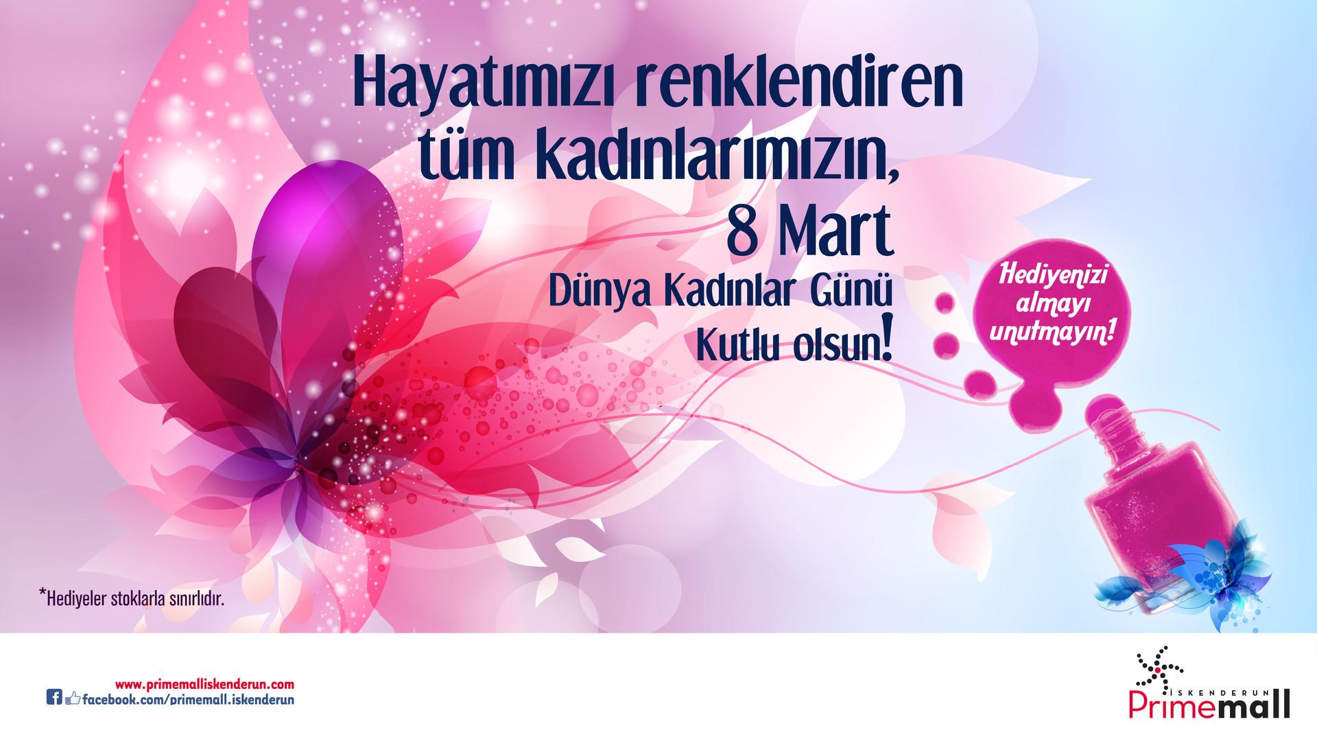 Hayatımızı Renklendiren Tüm Kadınlarımızın, 8 Mart Dünya Kadınlar Günü Kutlu Olsun