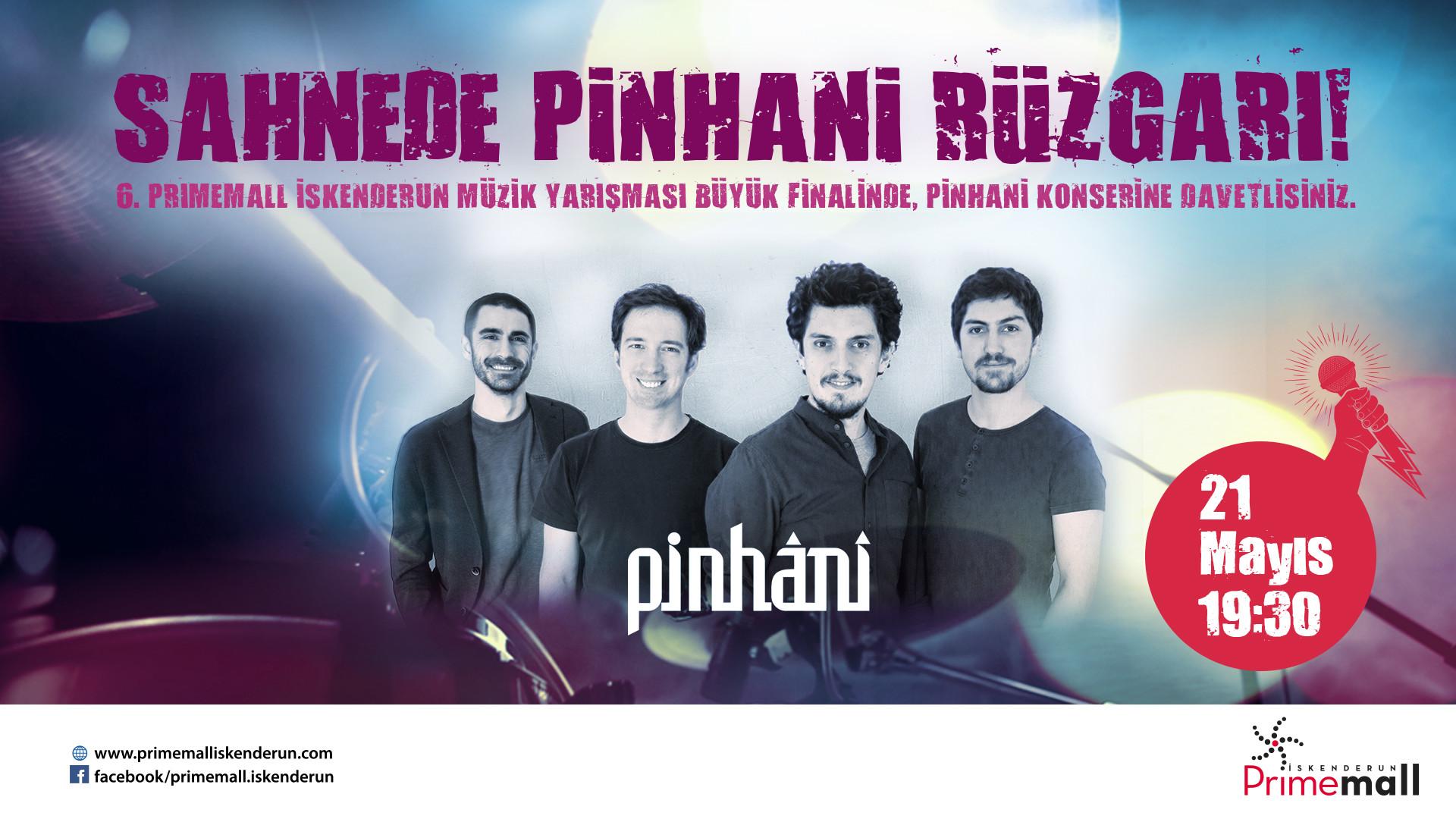 Sahnede Pinhani rüzgarı