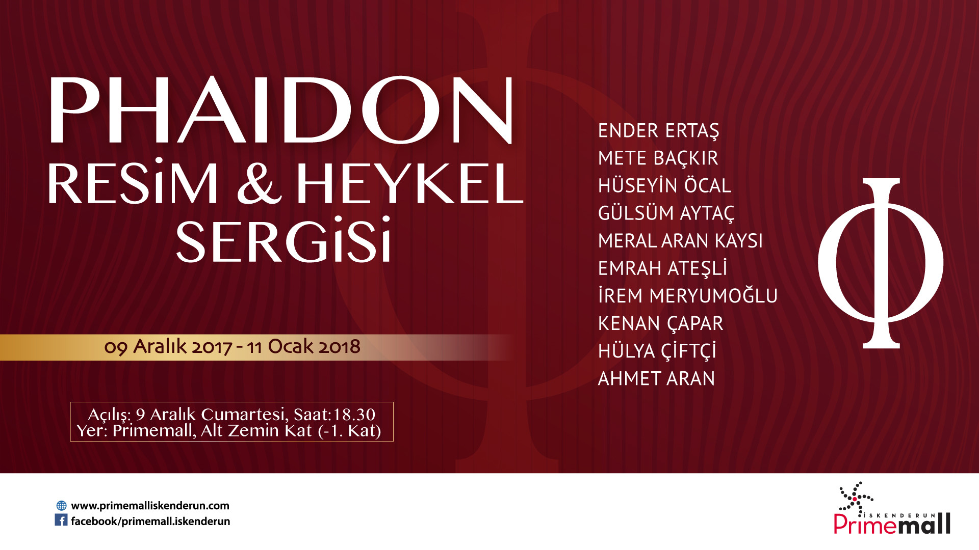 Phaidon Resim & Heykel Sergisi