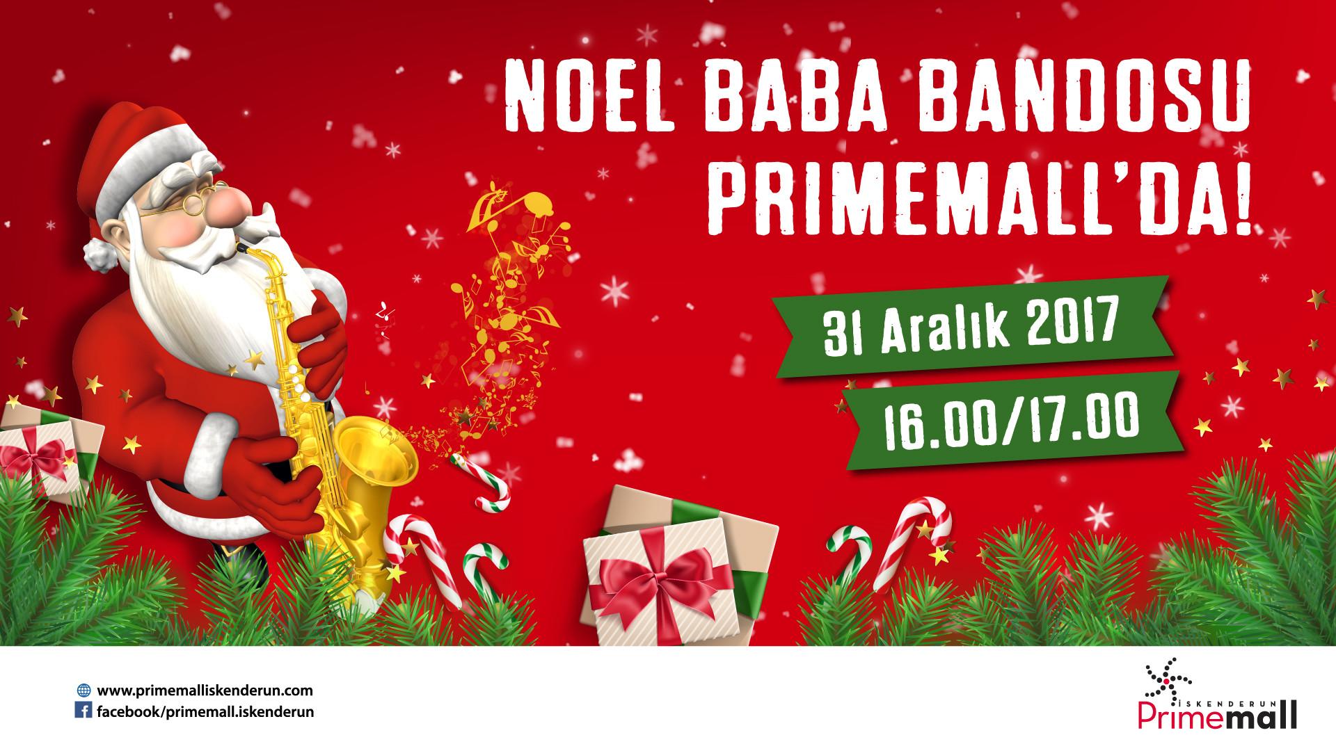 Noel Baba Bandosu Primemall'da