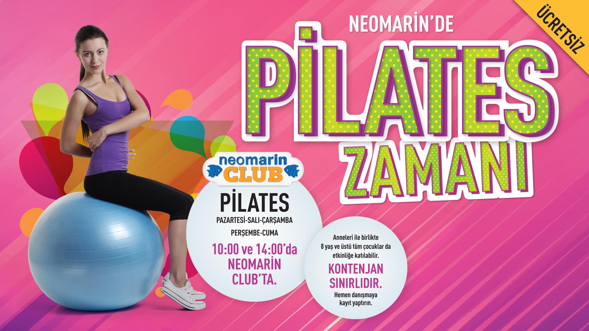 Neomarin'de Pilates Zamanı