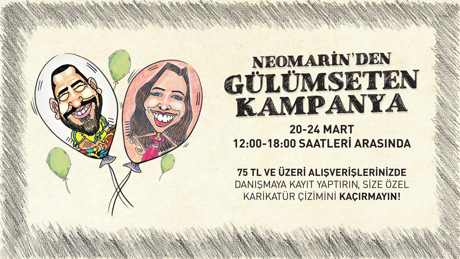 Neomarin'den Gülümseten Kampanya