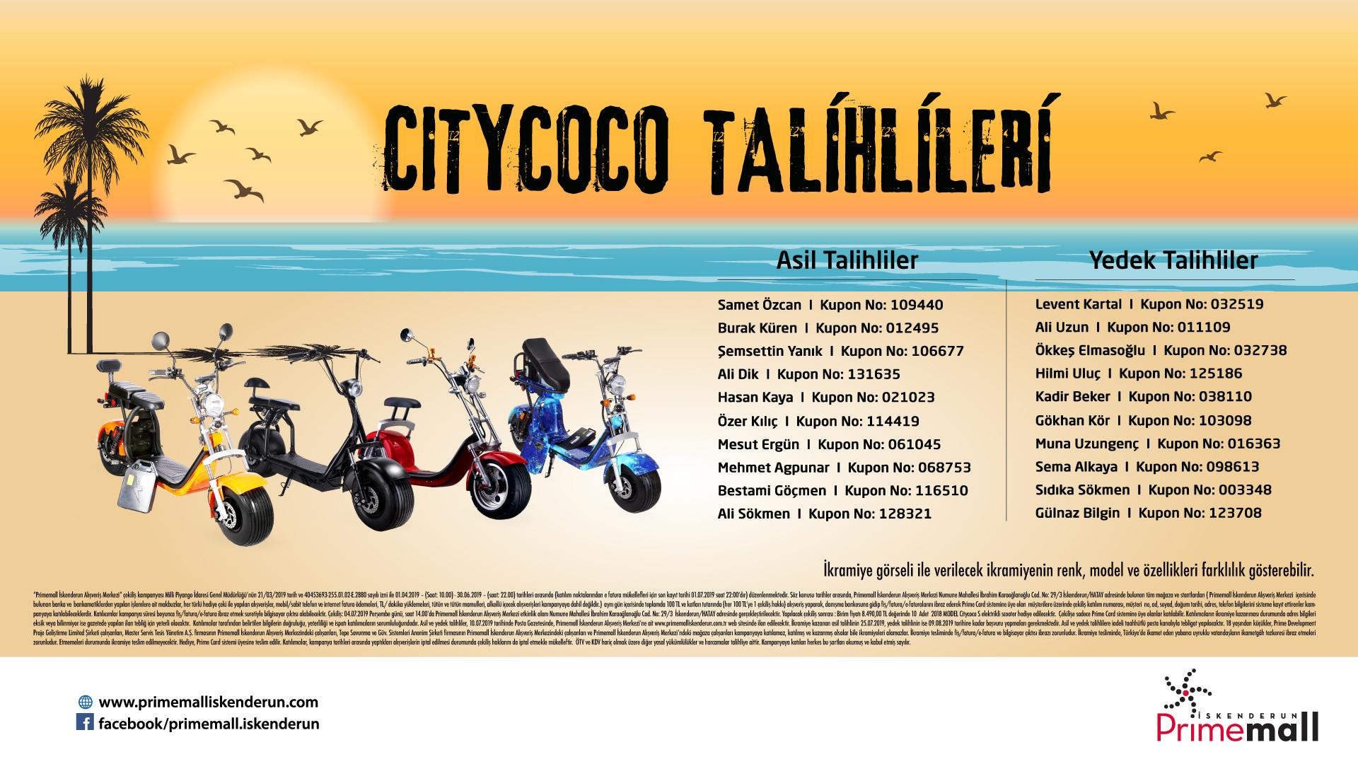 Citycoco Talihlileri