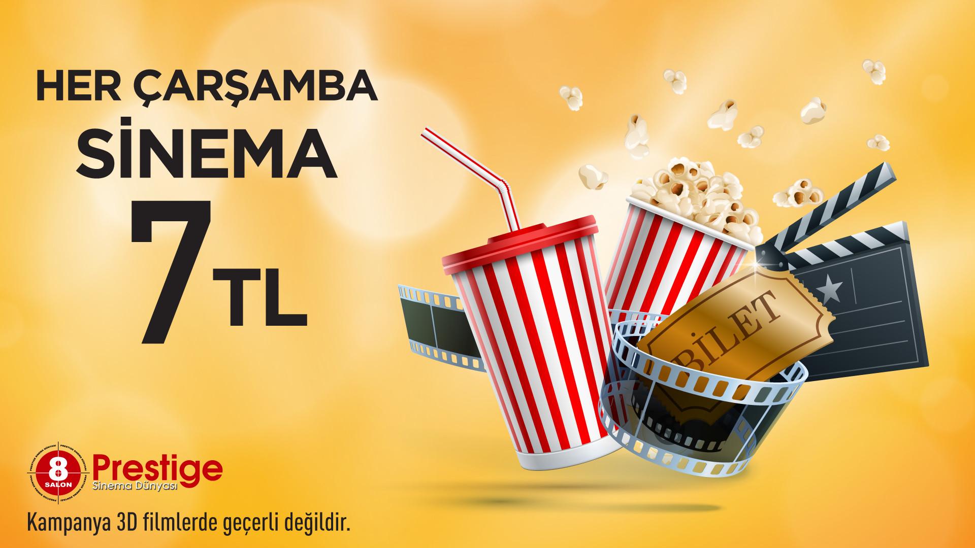 Her Çarşamba Sinema 7 TL