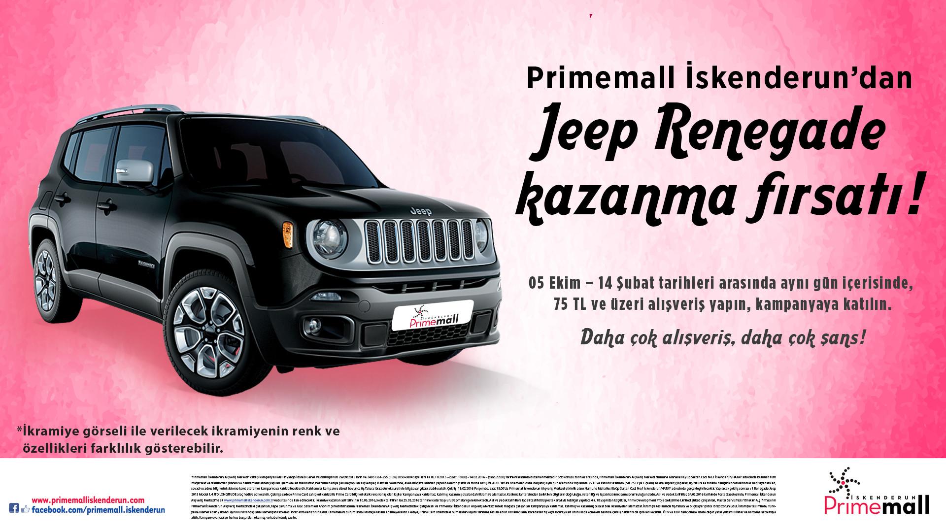 Jeep Renegade Kazanma Fırsatı!