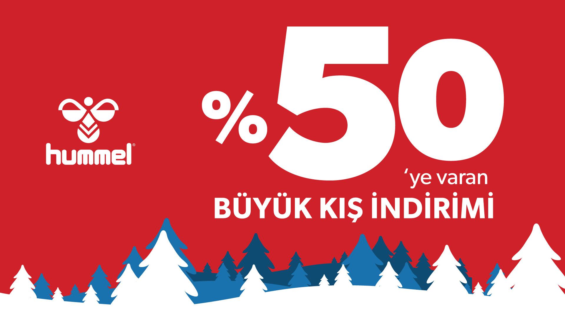 %50'ye Varan Büyük Kış İndirimi