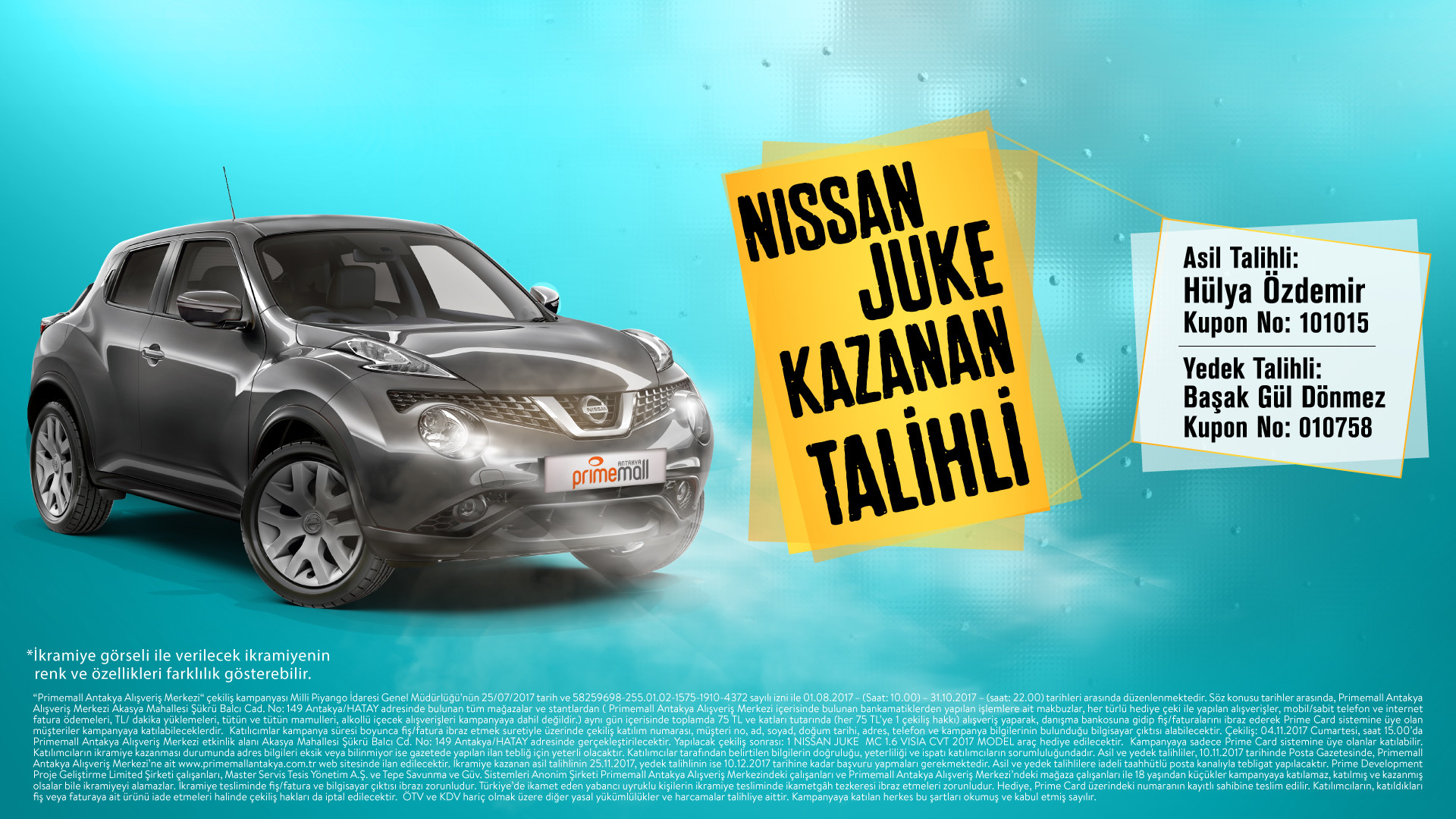 Nissan Juke Kazanan Talihli