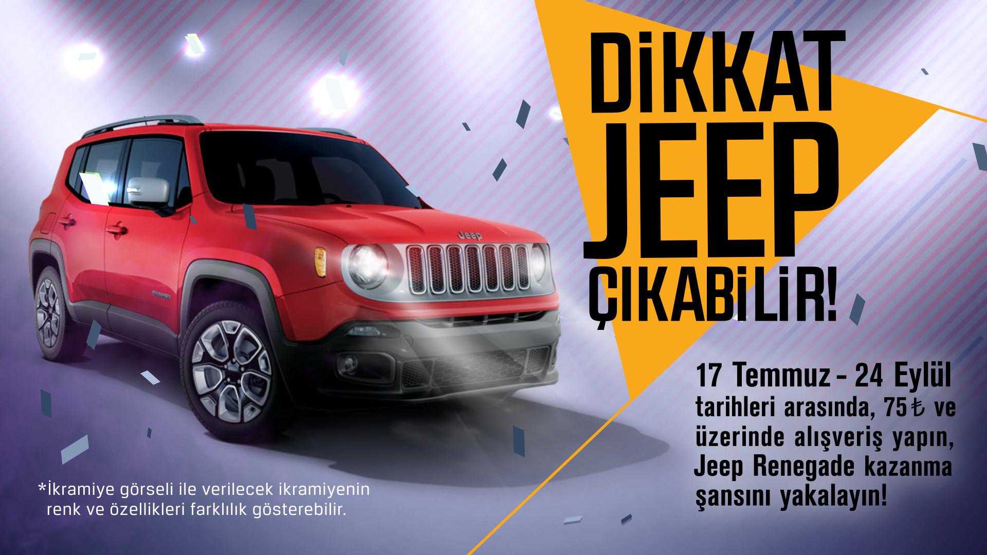 Dikkat Jeep Çıkabilir