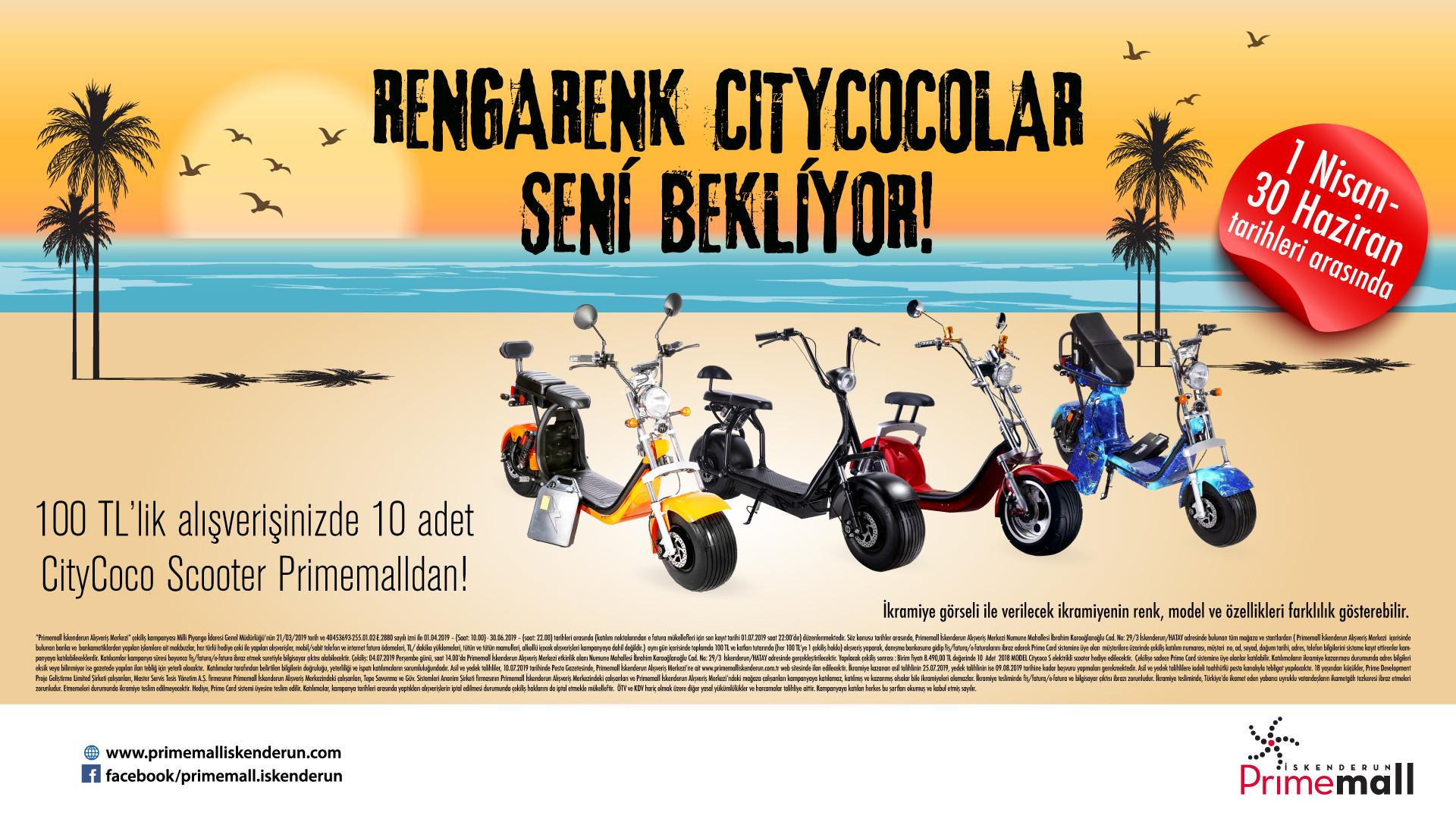 Rengarenk Citycocolar Seni Bekliyor!