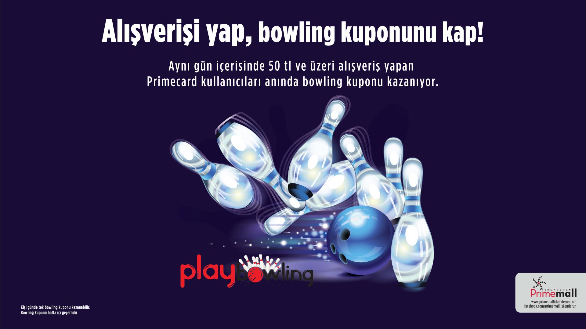 Alışverişi Yap, Bowling Kuponunu Kap!