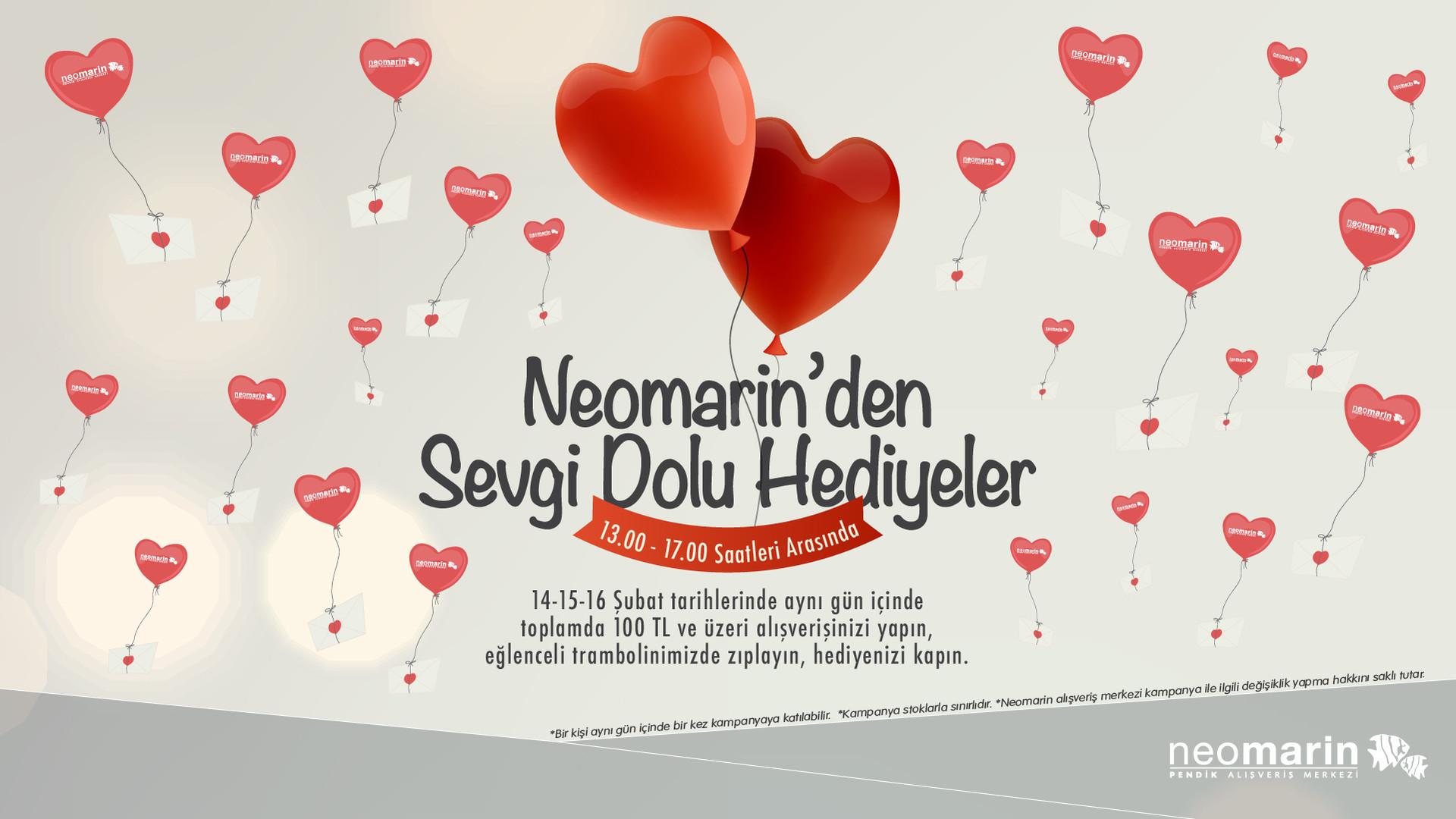 Neomarin'den Sevgi Dolu Hediyeler