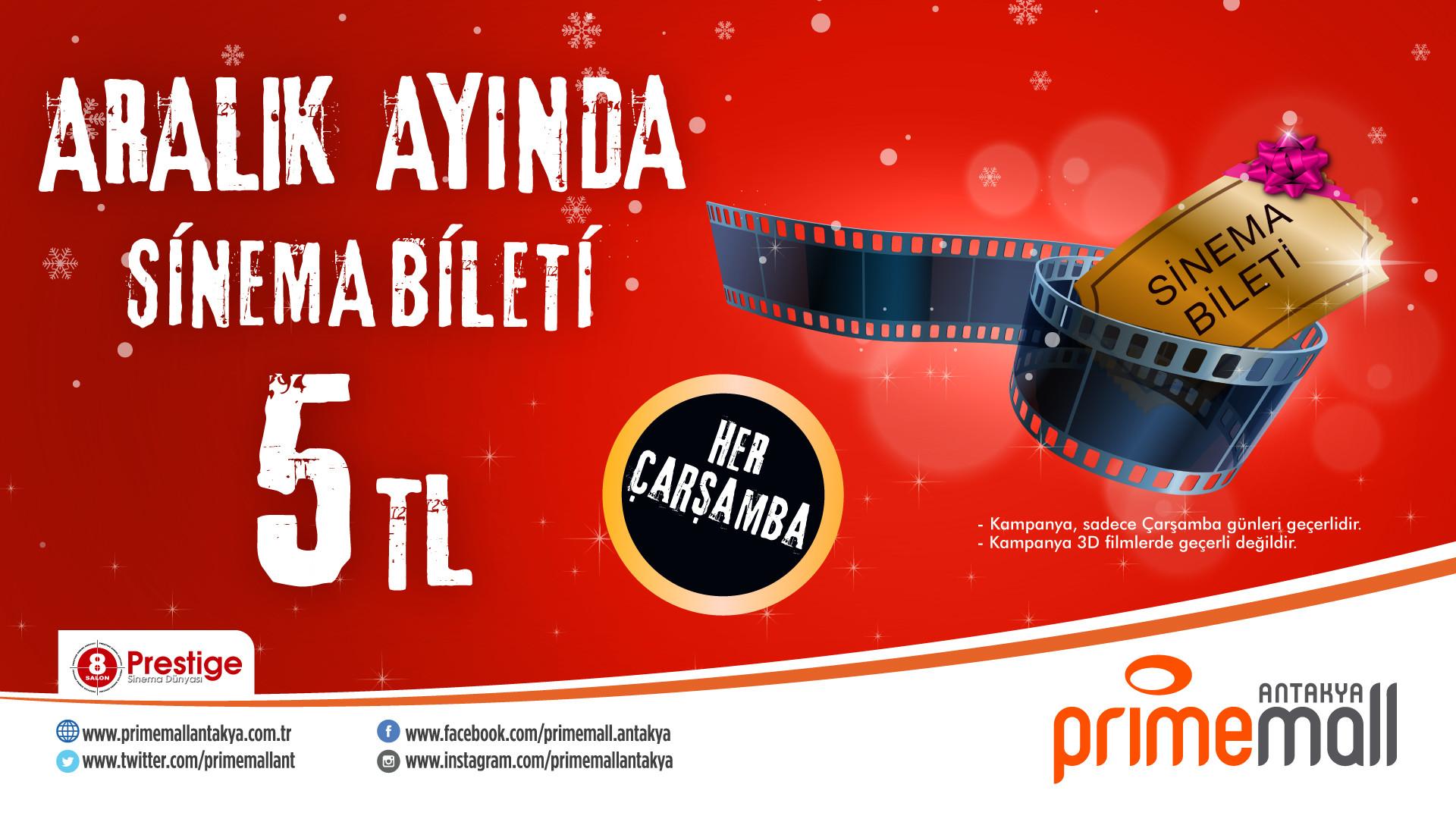 Sinema Bileti 5 TL