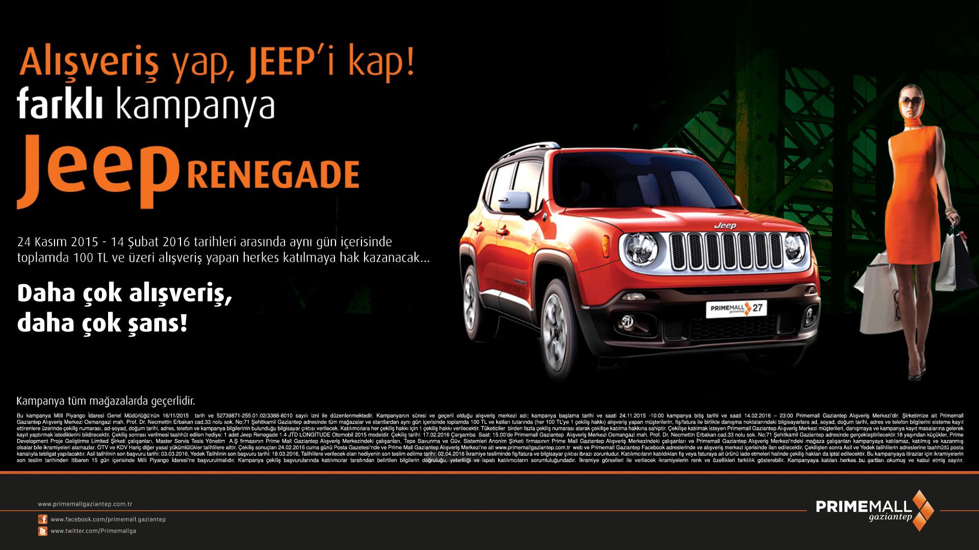 Alışveriş Yap, Jeep'i Kap