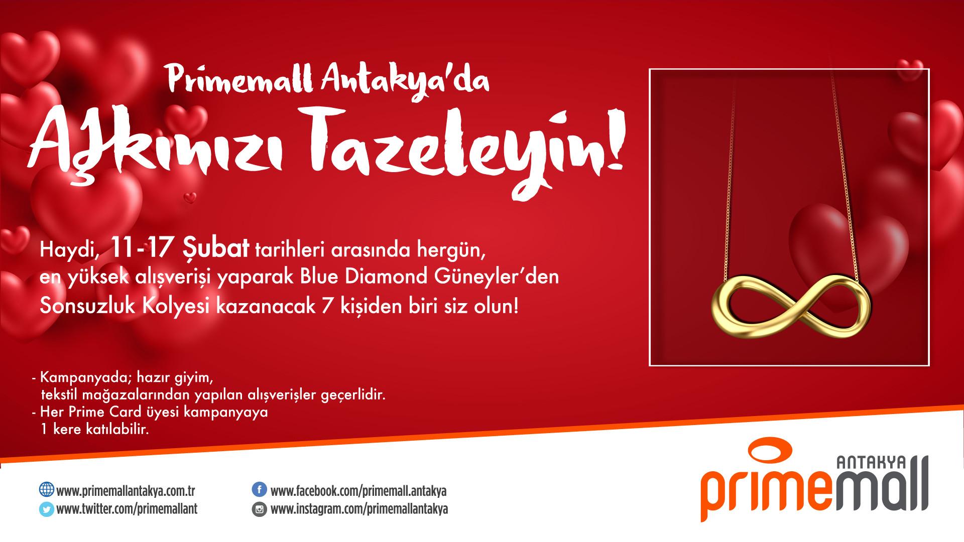 Primemall Antakya'da Aşkınızı Tazeleyin!
